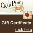 The Crab Place gift certificates - a truly delicious gift!
