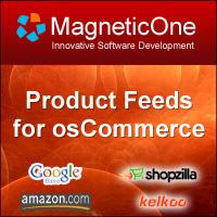 osCommerce Data Feeds