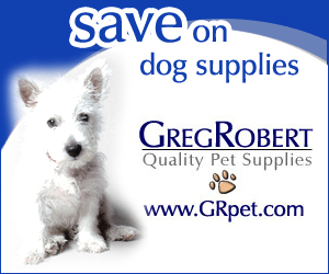 Save on Dog Supplies at GregRobert