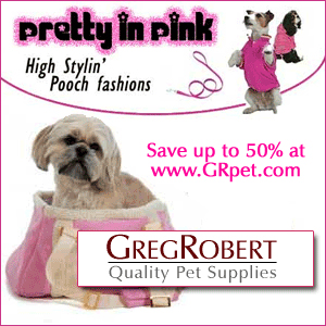 Pink Dog Fashions at GregRobert