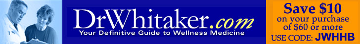 Link to Dr.Whitaker's Home Product Page with over 65 nutritional health products. $10 off on purchases of $60 or more.