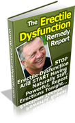 Erectile Dysfunction Remedy Report