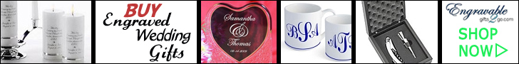 personalized engraved wedding gifts