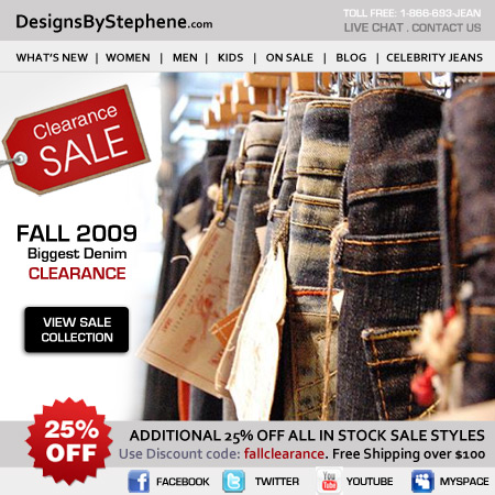 Denim Clearance Designs By Stephene