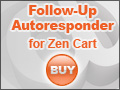 Follow-up Autoresponder for Zen Cart