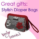 Great Gifts - Stylish diaper bags at Baby Browns