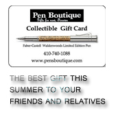 Gift Card from Pen Boutique Ltd