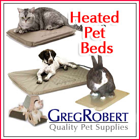 Heated Pet Beds for less at GregRobert