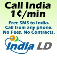 Call India for 1.3 cents per minute