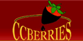 CCberries - chocolate covered strawberries, chocolate covered apples and pears.
