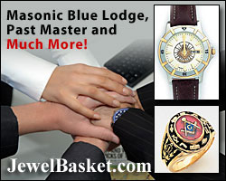 Masonic Jewelry and Rings at JewelBasket.com