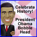 President Barack Obama Bobblehead at PottersGifts.com