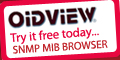 OidView MIB Browser and Network Tools