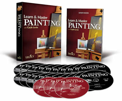 Learn and Master Painting DVD
