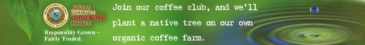 Join our coffee club and we'll plant a native tree on our organic coffee farm.