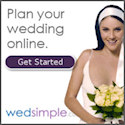 Plan your wedding online with WedSimple - Get started now!
