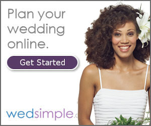 Plan your wedding online with Wedsimple.com