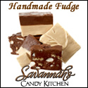 Handmade fudge, made fresh daily.