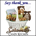 Say thank you with a gift basket from Savannah''s Candy Kitchen