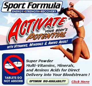 Natural Sport Formula - Multi-Vitamin - Multi-Mineral - Amino Acids - Optimum Bio-Availability