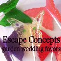 Garden Wedding  Favors