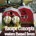 Country Western Themed Wedding Favors
