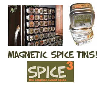SpiceCubed - Magnetic Spice Tins!