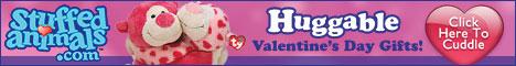 huggable stuffed Valentines