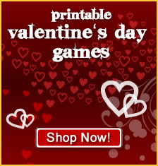 Valentine's Day Printable Party Games