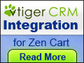 vtiger CRM Integration for Zen Cart