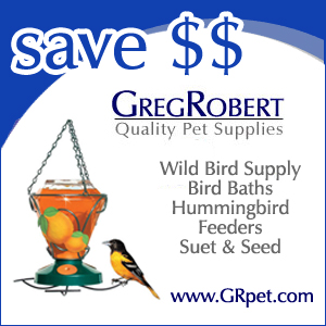 Wild Bird Supplies at GregRobert