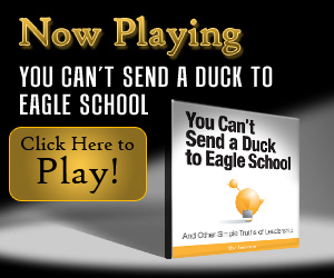 You Can't Send a Duck to Eagle School, inspirational movies, motivational movies, short movies, inspiring movies, simple truths, simple truths movies